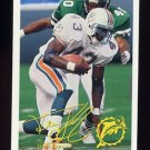 1994 FACT Fleer Shell Football #17 Terry Kirby - Miami Dolphins