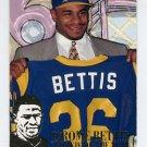 1994 Fleer Football Jerome Bettis Inserts #02 Jerome Bettis - Los Angeles Rams