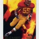 1994 Fleer Football Prospects #18 Willie McGinest - New England Patriots
