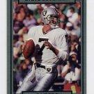 1990 Action Packed Football #123 Steve Beuerlein - Los Angeles Raiders