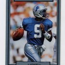 1990 Action Packed Football #077 Rodney Peete - Detroit Lions