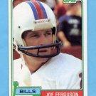 1981 Topps Football #503 Joe Ferguson - Buffalo Bills NM-M