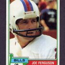 1981 Topps Football #503 Joe Ferguson - Buffalo Bills VgEx