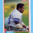 1981 Topps Football #500 Tony Dorsett - Dallas Cowboys