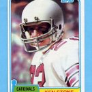 1981 Topps Football #479 Ken Stone - St. Louis Cardinals
