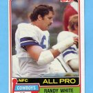 1981 Topps Football #470 Randy White - Dallas Cowboys