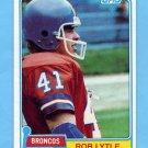1981 Topps Football #464 Rob Lytle - Denver Broncos