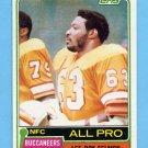 1981 Topps Football #410 Lee Roy Selmon - Tampa Bay Buccaneers NM-M
