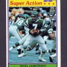 1981 Topps Football #408 Ron Jaworski SA - Philadelphia Eagles Vg