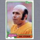 1981 Topps Football #373 Garo Yepremian - Tampa Bay Buccaneers
