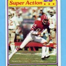 1981 Topps Football #284 Alfred Jenkins SA - Atlanta Falcons