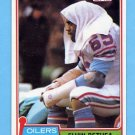 1981 Topps Football #272 Elvin Bethea - Houston Oilers