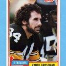 1981 Topps Football #256 Randy Grossman - Pittsburgh Steelers