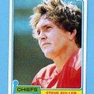 1981 Topps Football #232 Steve Fuller - Kansas City Chiefs
