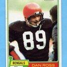 1981 Topps Football #192 Dan Ross RC - Cincinnati Bengals NM-M