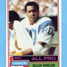 1981 Topps Football #150 Kellen Winslow RC - San Diego Chargers NM-M