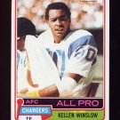 1981 Topps Football #150 Kellen Winslow RC - San Diego Chargers VgEx