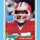 1981 Topps Football #106 Alfred Jackson - Atlanta Falcons ExMt