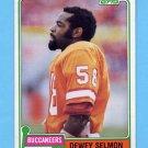1981 Topps Football #068 Dewey Selmon - Tampa Bay Buccaneers NM-M