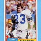 1981 Topps Football #048 Dan Doornink - Seattle Seahawks