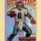 1997 Topps Football High Octane #HO14 Troy Aikman - Dallas Cowboys