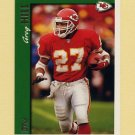 1997 Topps Football #329 Greg Hill - Kansas City Chiefs