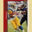 1997 Topps Football #287 Lawrence Phillips - St. Louis Rams