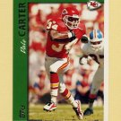 1997 Topps Football #213 Dale Carter - Kansas City Chiefs