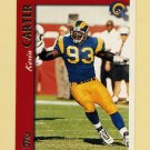 1997 Topps Football #149 Kevin Carter - St. Louis Rams