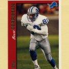 1997 Topps Football #129 Brett Perriman - Detroit Lions