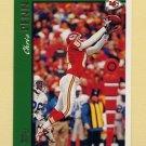 1997 Topps Football #107 Chris Penn - Kansas City Chiefs