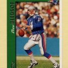 1997 Topps Football #100 Drew Bledsoe - New England Patriots