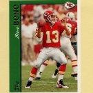 1997 Topps Football #013 Steve Bono - Kansas City Chiefs