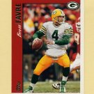 1997 Topps Football #001 Brett Favre - Green Bay Packers