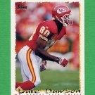 1995 Topps Football #351 Lake Dawson - Kansas City Chiefs