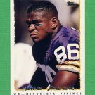 1995 Topps Football #302 Jake Reed - Minnesota Vikings