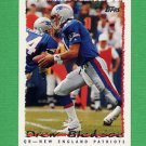 1995 Topps Football #280 Drew Bledsoe - New England Patriots