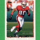 1995 Topps Football #220 Jerry Rice - San Francisco 49ers