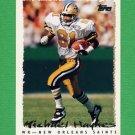 1995 Topps Football #193 Michael Haynes - New Orleans Saints