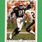 1995 Topps Football #133 Michael Jackson - Cleveland Browns