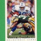 1995 Topps Football #110 Barry Sanders - Detroit Lions