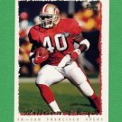1995 Topps Football #070 William Floyd - San Francisco 49ers