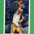 1995 Topps Football #034 Brett Favre TYC - Green Bay Packers
