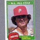 1981 Topps Baseball #630 Steve Carlton - Philadelphia Phillies ExMt