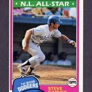 1981 Topps Baseball #530 Steve Garvey - Los Angeles Dodgers