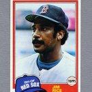 1981 Topps Baseball #500 Jim Rice - Boston Red Sox