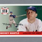 2006 Topps Baseball Mantle Home Run History #MHR318 Mickey Mantle - New York Yankees