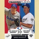 2007 Topps Baseball Trading Places #TP24 Greg Maddux - San Diego Padres