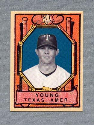 2007 Topps Baseball Wal-Mart #WM32 Michael Young - Texas Rangers
