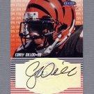 1999 Fleer Focus Football Fresh Ink #09 Corey Dillon - Cincinnati Bengals AUTO